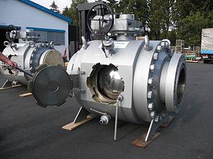 шаровой кран для трубопровода